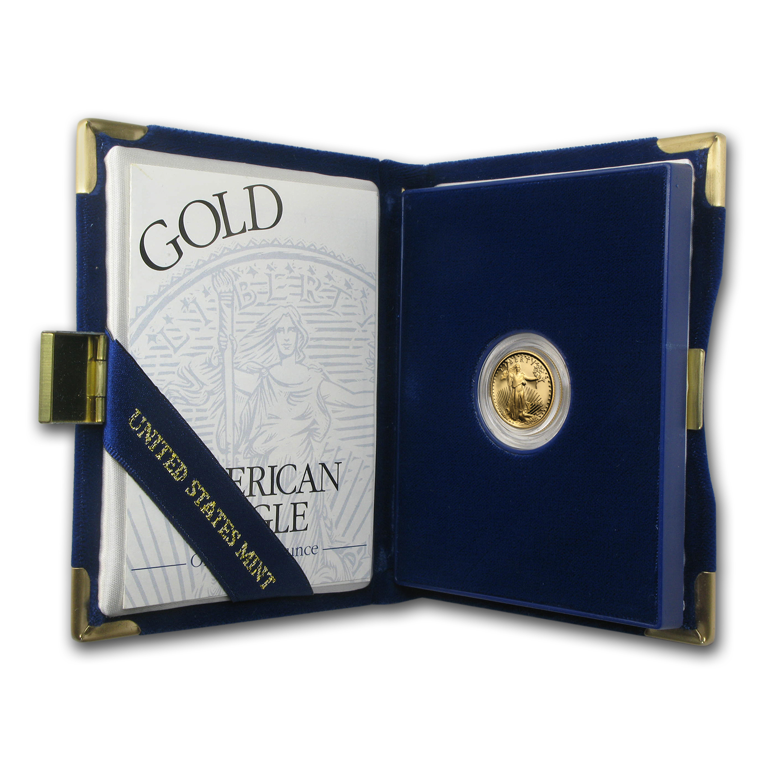 1995-W 1/10 oz Proof Gold American Eagle (w/Box & CoA)